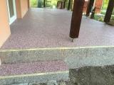 Covor din piatra de cuart colorat EVIDECOR
