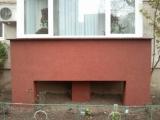 Tencuiala mozaicata balcon -EVIDECOR®