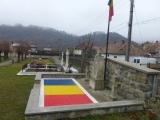 Drapel din pietre colorate EVIDECOR ,Lt.Nicolae Macarie