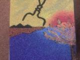 Tablou cu nisip colorat EVIDECOR®